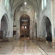 L'église St Etienne après le grand nettoyage