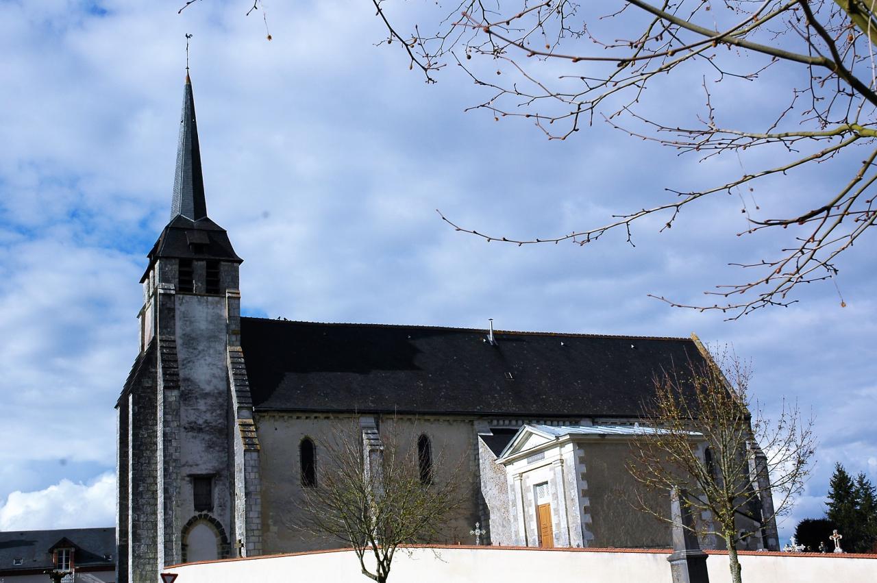 église de VILLEHERVIERS