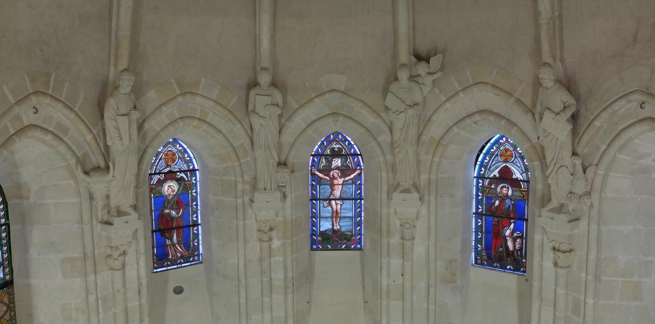 l'abside nettoyée