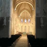 le chœur rénové