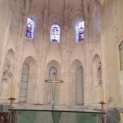 le chœur de l'église de Romorantin